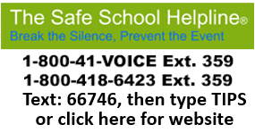 Safe school helpline web link